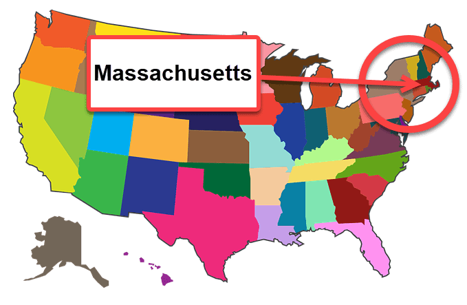 How To Start A Business In Massachusetts - Map