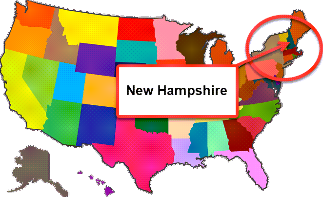 How To Start A Business In New Hampshire - Map